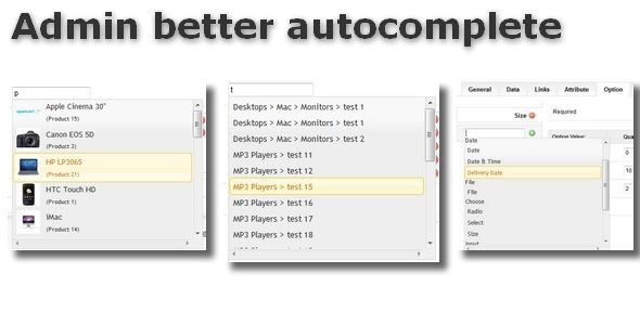 cool Download Admin better autocomplete for OpenCart Check more at http://www.progiftcode.com/download-admin-better-autocomplete-for-opencart/