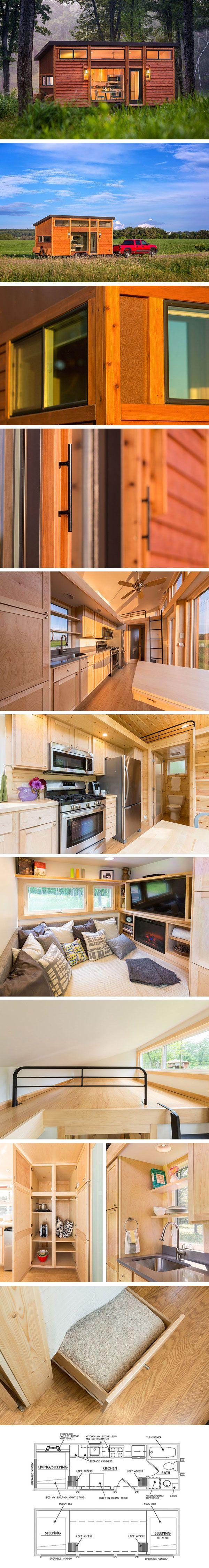Дом на колесах Traveler от Escape Traveler #tinyhomesdigest #tinyhouse #houseonwheels #camper