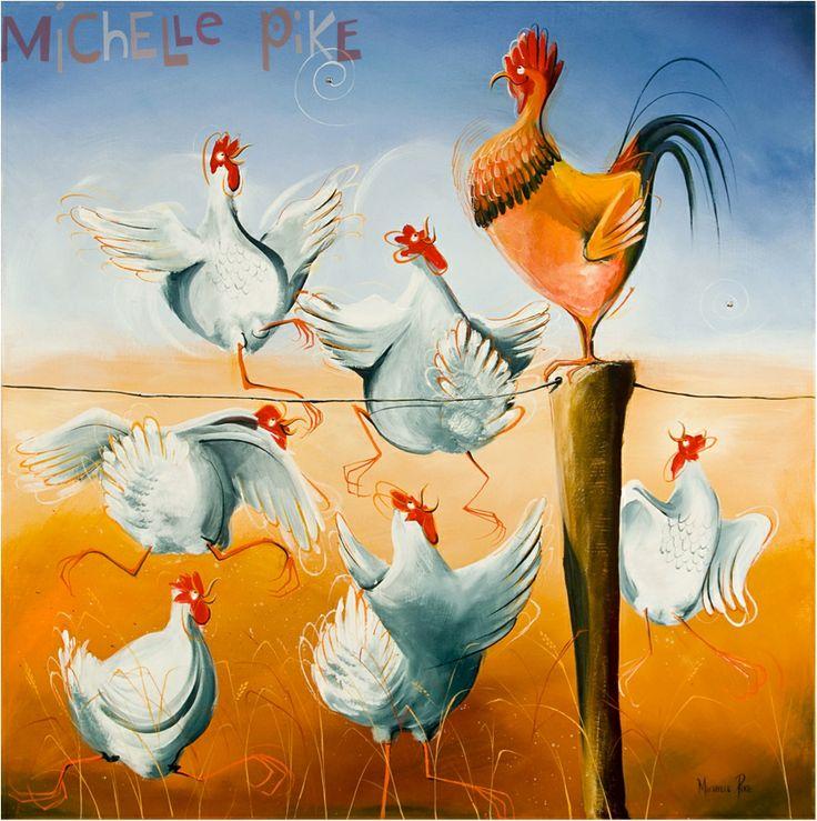 Chick Magnet - Michelle Pike Australian Artist
