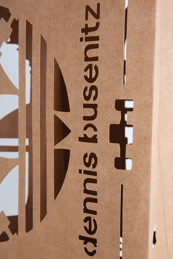 Adidas Skateboard Busenitz - Paper bag + Stencil #adidas #adidasskateboard