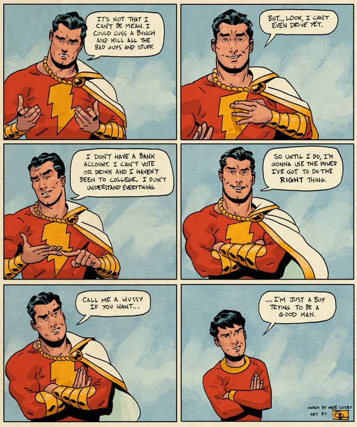 Captain Marvel (aka Billy Batson) // Just a boy trying to be a good man
