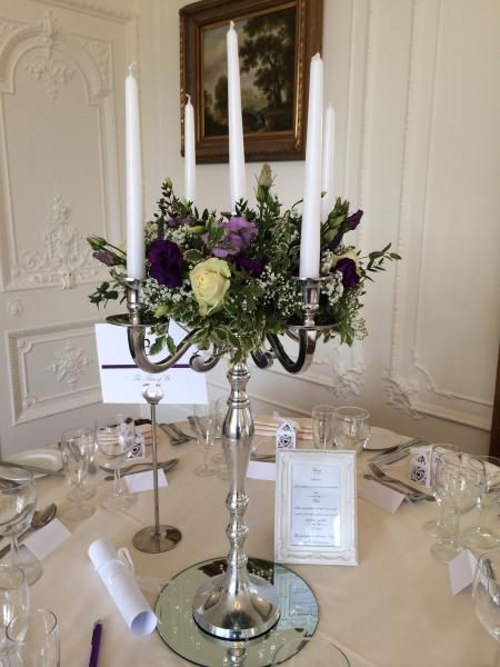Wedding Candelabra - Affordable Dreams Hire in Surrey