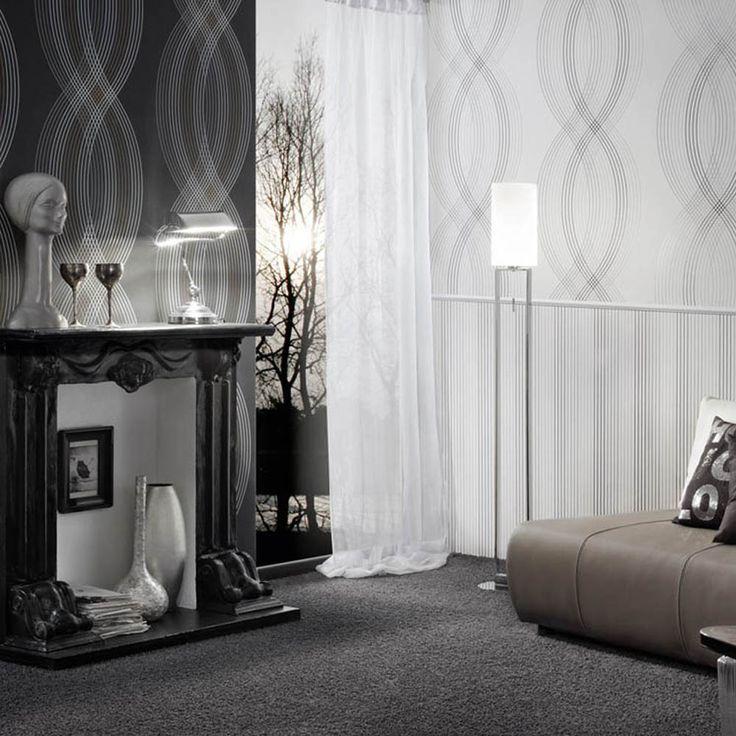 Strichtapete, Holz Hintergrundbild, Hintergrund Ideen, Texturierte  Hintergründe, Gatsby Stil, Tapeten, Zimmereinrichtung, Schlafzimmer Ideen,  Moda