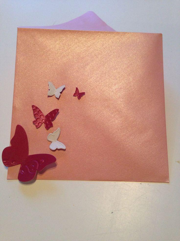 Enveloppe décorée (Stampin'Up)