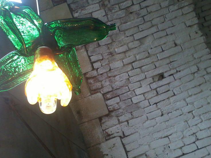 jagermeister lamp on festival Brutal Assault