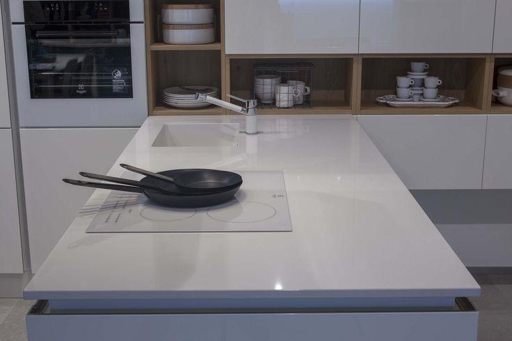 """white kitchen quartzforms """"qf white"""""""