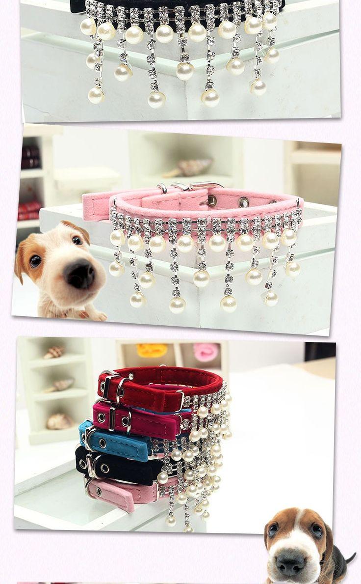 New Design reunindo cão de cristal de diamante gato filhote de chumbo cinta colar colar jóias acessórios do casamento para cães Pet shop em Coleira para cachorro de Casa & jardim no AliExpress.com | Alibaba Group