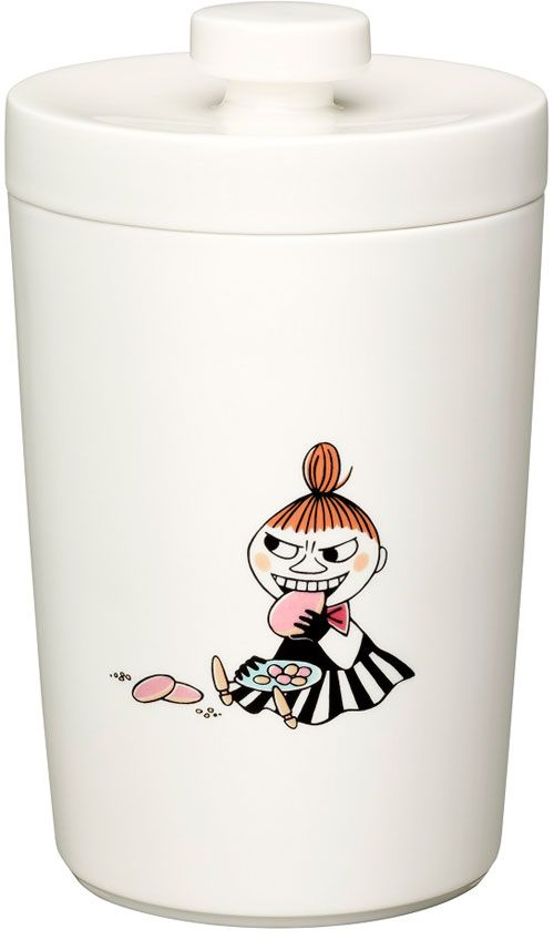 Moomin biscuit jar by Arabia Finland - I love Little My