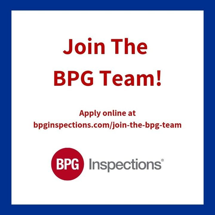 Bpg Inspections Is Currently Accepting Applications For Home