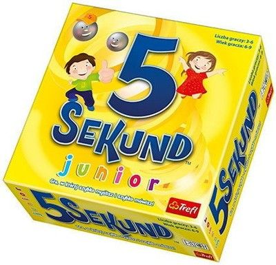 Gra 5 Sekund Junior Trefl 01138