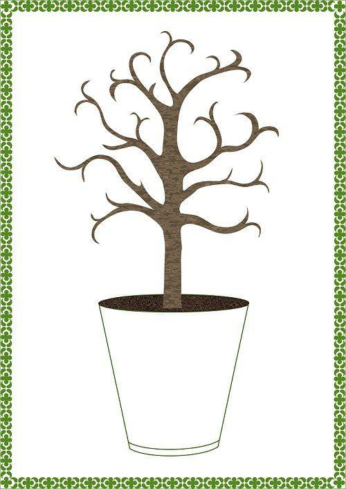 Одна из моих интересных разработок для Вегетарианского детского сада. Творческое задание для деток в Вайшнавской традиции: на картинке - священное дерево Туласи, а точнее - его основа, листья, цветущие манджари, юбочка, детали для украшения. Задача деток - вырезать всё это, нарядить и украсить Туласи))  Эта картинка уже в рамочке - её можно подарить или повесить дома🌱