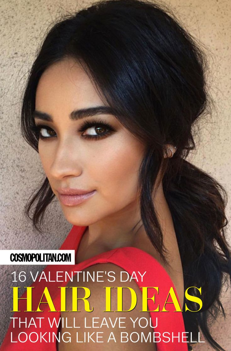 DATE NIGHT HAIR IDEAS: No need to go all out this Valentine's Day (or any other date night). These gorgeous and easy styles will make you (and him!) swoon just the same! Click through for easy hairstyle ideas from Shay Mitchell, Khloe Kardashian, Kendall Jenner, Taylor Swift, and more.