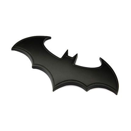 Бэтмен супергерой марк хром метал автомобиль эмблема 3D стикер знак авто украшения транспортных средств отличительные знаки хвост наклейка стайлинга автомобилей(China (Mainland))