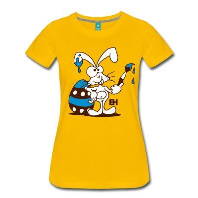 Een speciale T-Shirt shop, helemaal gewijd aan het thema Pasen.  #Pasen #Paashaas #Paasei #Spreadshirt  Als het Paasfeest voor de deur staat, schildert de Paashaas zijn Paaseieren.