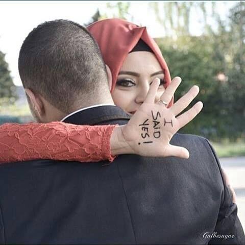Halal Love ♡ ❤ ♡  Muslim Couple ♡ ❤ ♡ Marriage In Islam ♡ ❤ ♡ . . Follow me here MrZeshan Sadiq