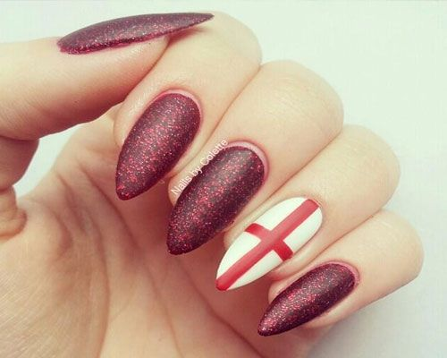 26 World Cup Nail art Designs  #worldcup2014 #nailartdesign #worldcupnailart