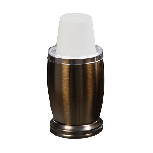 zoomed forsyth oil rubbed bronze metal disposable cup