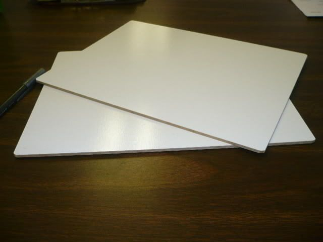 Dry Erase Student Laptop Marker Board Individual 8.5x11