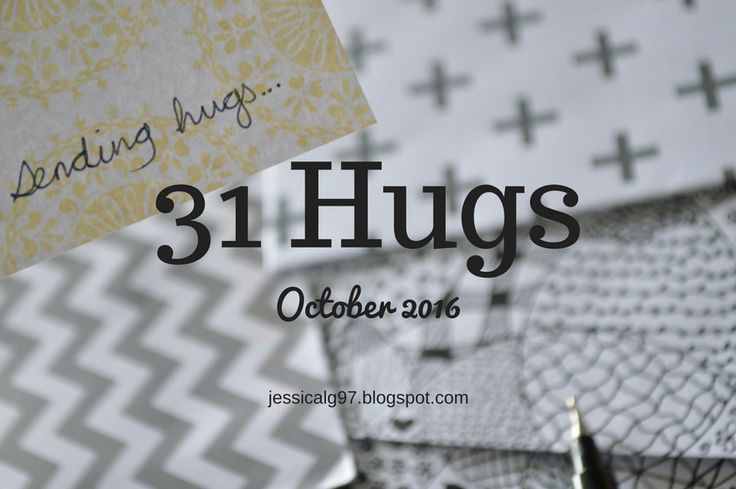 Apples of Gold: 31 Hugs - Announcement.
