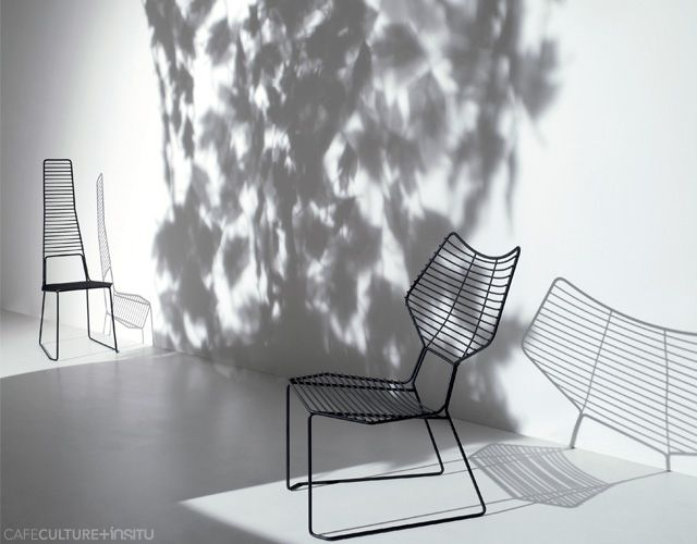ALIENO Wire Chair  Cafe Culture + Insitu