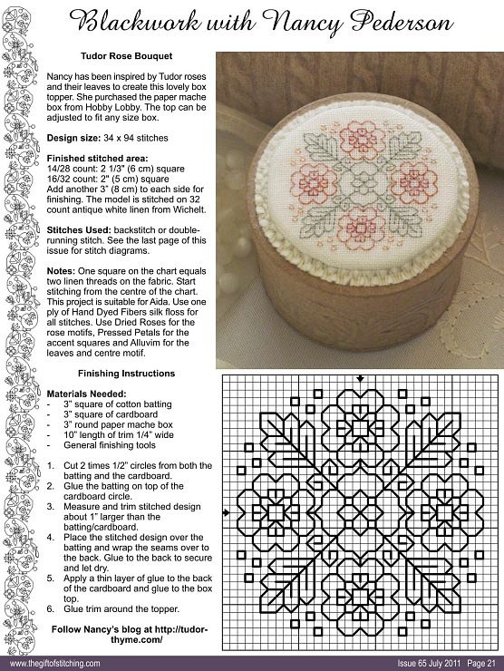 haft blackwork // EMBROIDERY / IDEAS: Blackwork