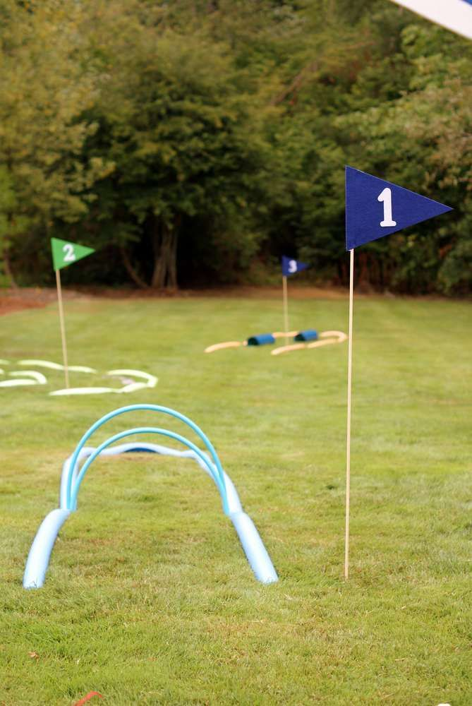 Golf Birthday Party Ideas   Photo 4 of 48   Catch My Party