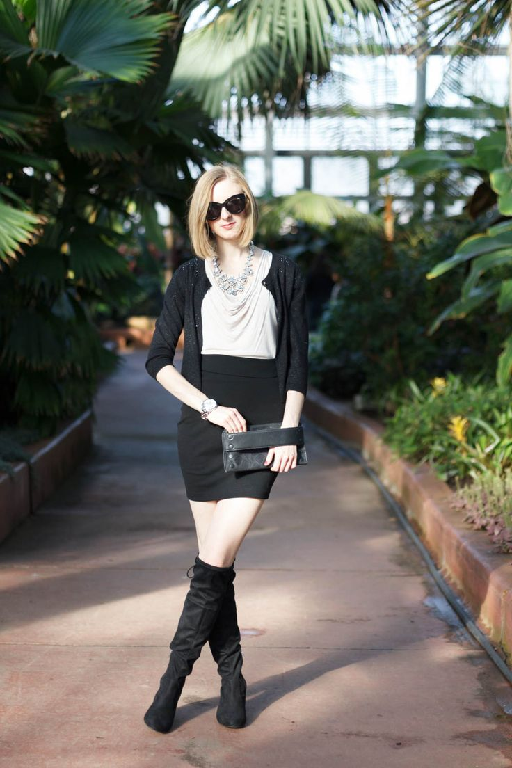 Model Atelier – Engineering In Style – Chicago Fashion Blogger styles practical but fashionable looks on a budget – {winter outfit, Comfortable Holida…