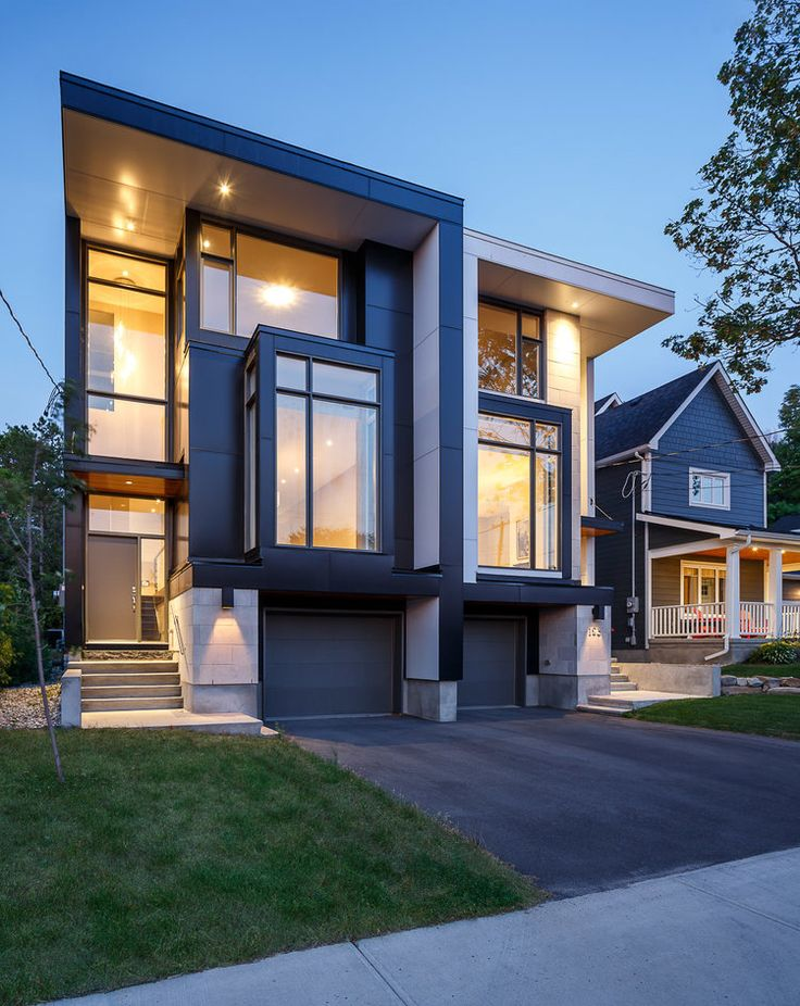 Contemporary House Design With Exterior Ceramic Panels And: Modern Design By Flynn Architecture