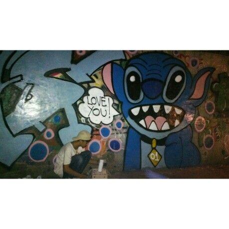 Finish. #streetart #vandalism #art #galeri #jalanan #character #stitch #bnr #why #tuns #esa #duart