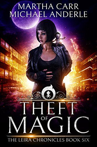 Theft of Magic: The Revelations of Oriceran (The Leira Chronicles Book 6) - History got it wrong. Magic is real. Leira Berens is a federal agent with some kickass magic of her own and she's come face to face with what happens when magic collides with technology and organic matter. Not pretty but very powerful. The race is on to try and stop this new kind of shape ...