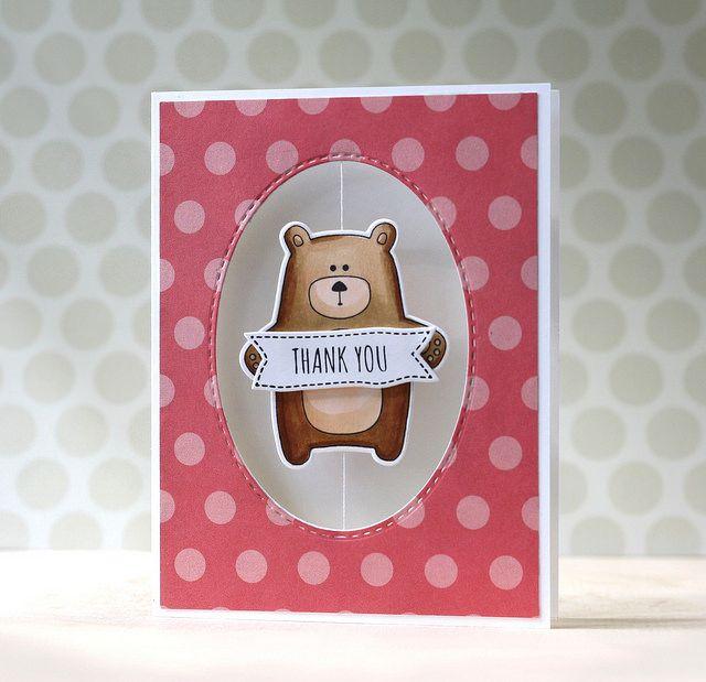 Laura Bassen: SSS Bear Necessities Spinner Card (video)