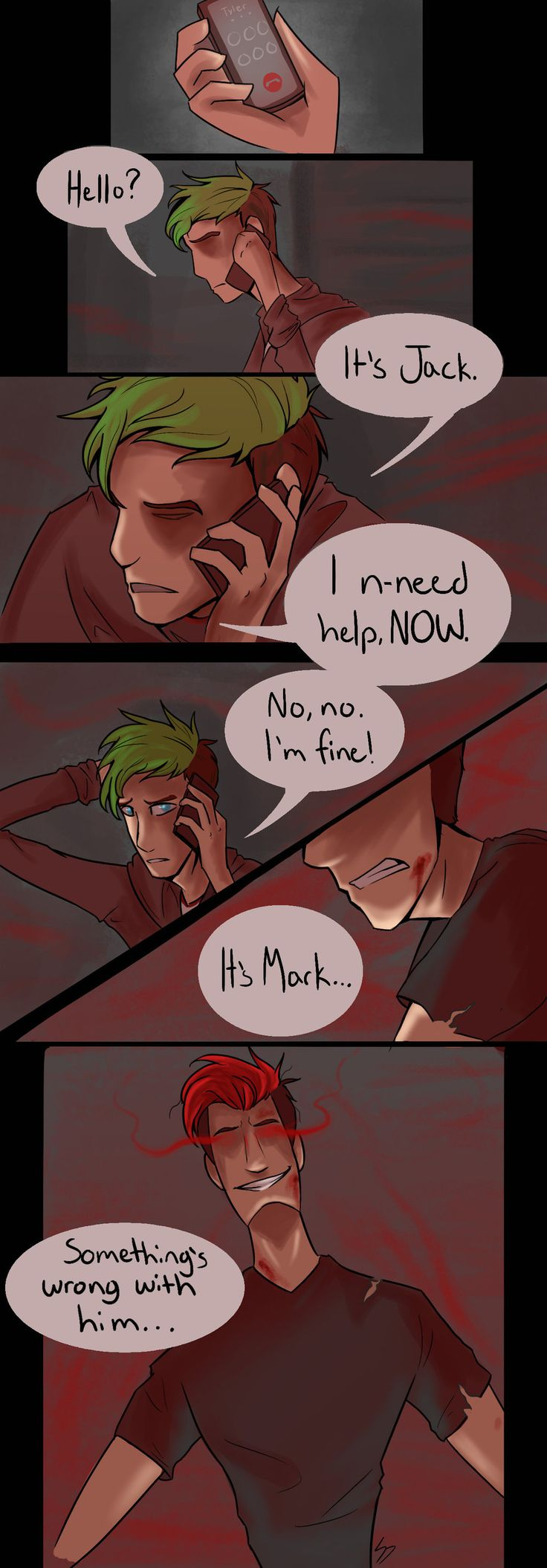Darkness Doesn't Fade (Short Darkiplier Comic) by L0neDrag0n on DeviantArt