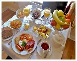 Time on your side and the family home a big relaxing breakfast