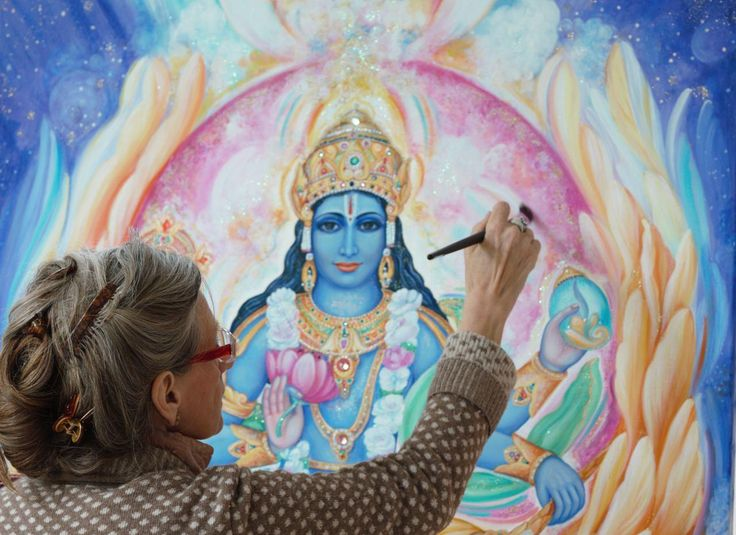 Bhakti Marga Art Course https://www.bhaktimarga.org/events/event/silk-painting-course