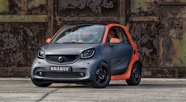 2015 smart fortwo by Brabus: the Details http://www.autoevolution.com/news/2015-smart-fortwo-by-brabus-the-details-84462.html