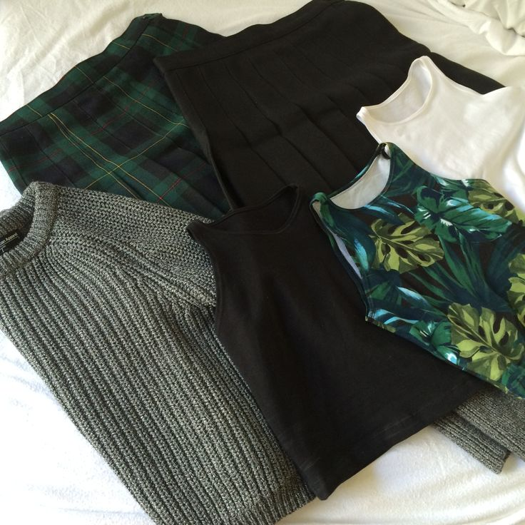 Shades of Green for Fall. #AmericanApparel #fall #colors