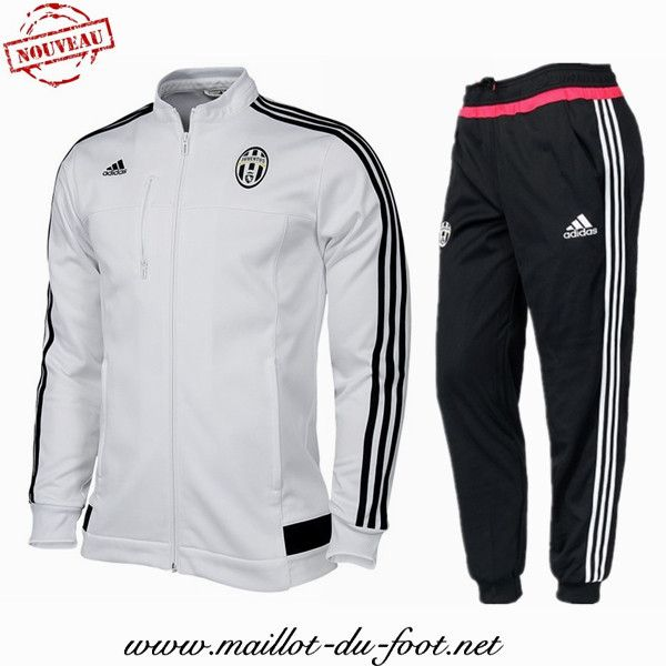a vendre Nouveau Veste Juventus Blanc N98 Homme 2015 2016 -02 shop