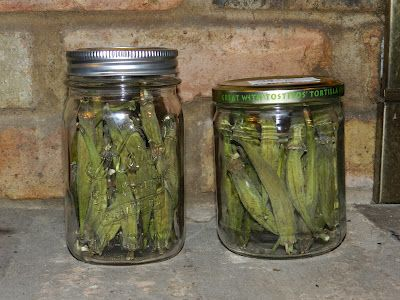 The Texas Pioneer Woman: Dehydrated Okra