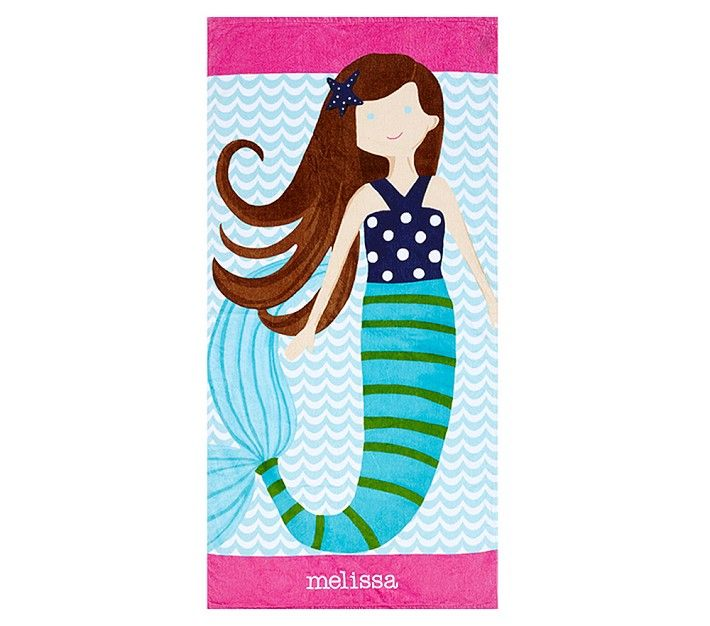 mermaid towel with upf protection awesome beach towels - Beach Towels On Sale