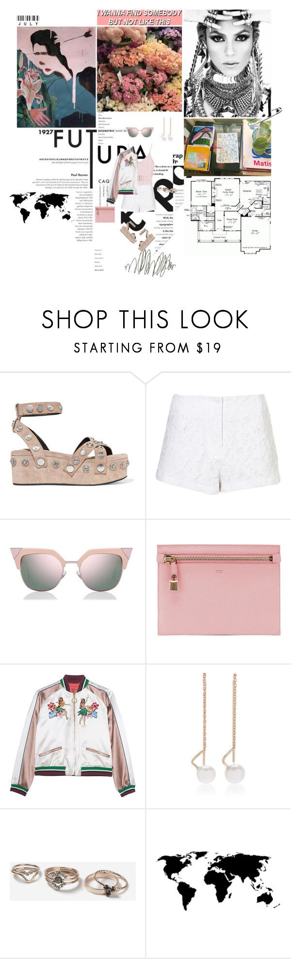 """""""I wanna find somebody, but not like this."""" by miky94 ❤ liked on Polyvore featuring Behance, Alexander Wang, Rare London, Fendi, Tom Ford, Hilfiger Collection, White/Space and Topshop"""