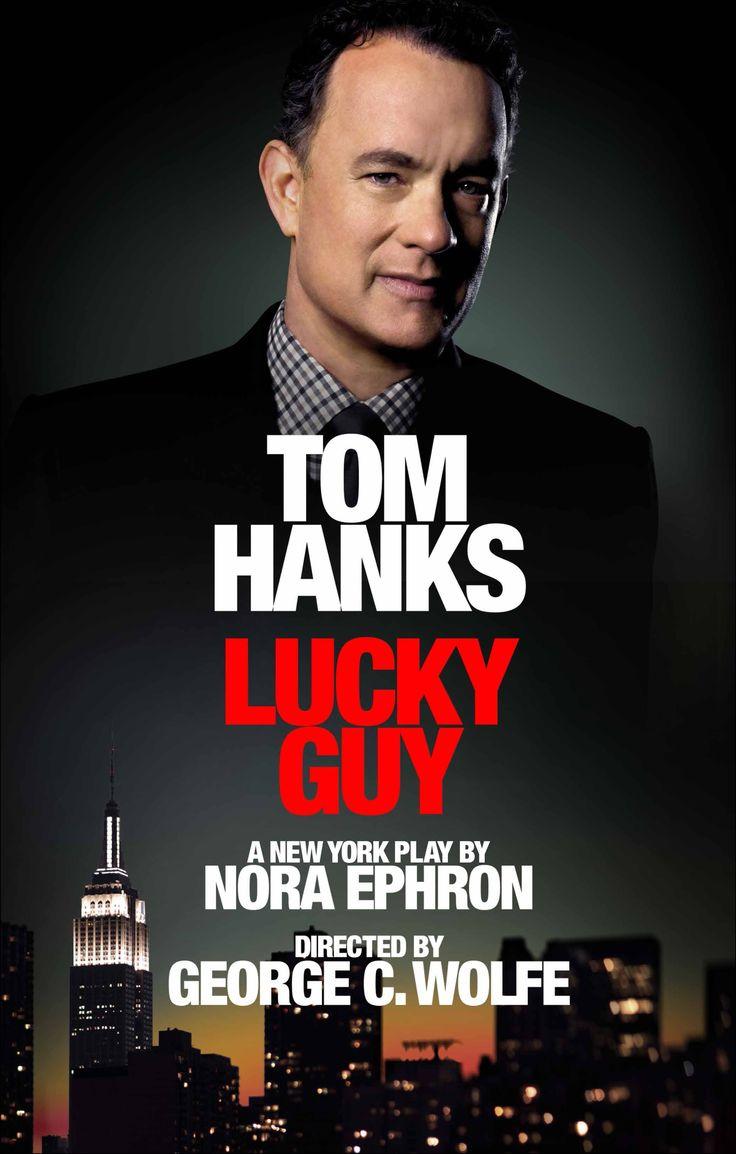 meet tom hanks lucky guy on broadway