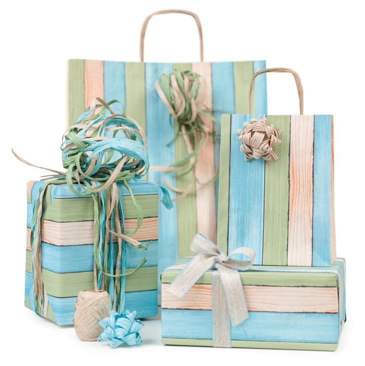 GREEN STYLE LINE #NastriBrizzolari #Green #raffia #wood #ribbons #paper #gift