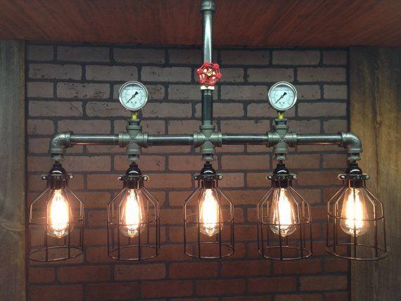 светильники из водопроводных труб - Поиск в Google