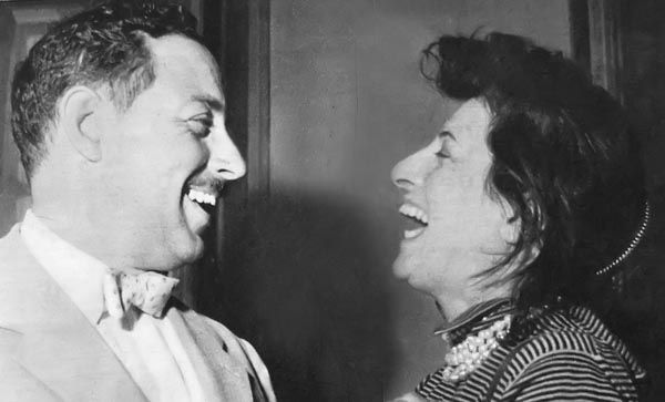Anna Magnani and Tennessee Williams