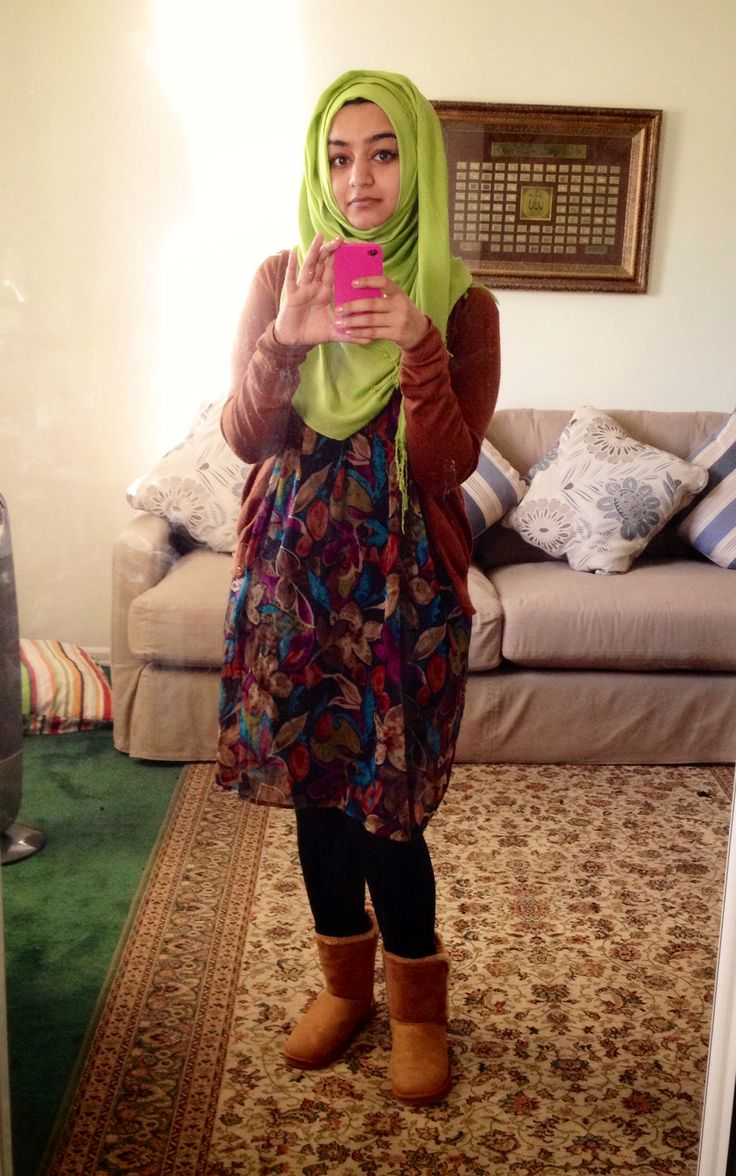Fall is here ? #hijab