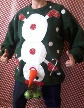 Lol! Ugly Christmas sweater