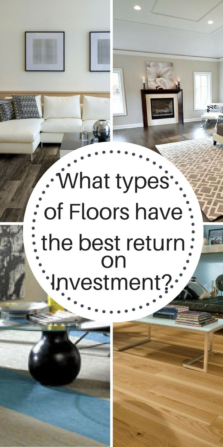 Which types of floors have the best return on investment (ROI)?  The Flooring Girl.