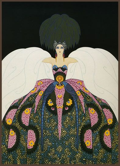 ☮ American Hippie Dance ~ Art Classics by Erte.. Art Deco - Copacabana