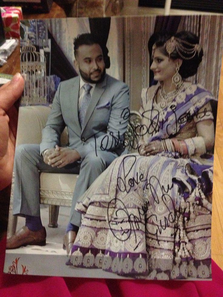 Autograph by Gurdas Maan