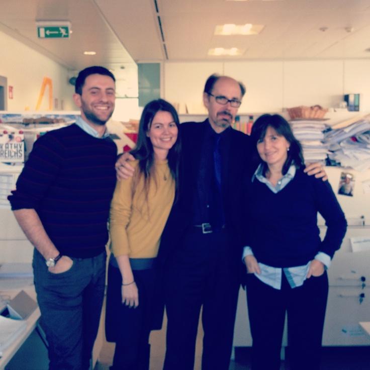 The Rizzoli Straniera team with #JefferyDeaver #bestdayever